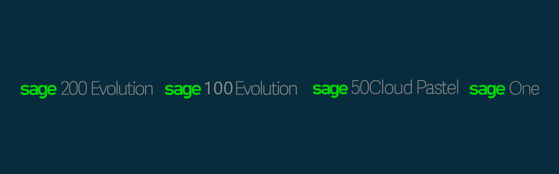 the difference between sage 200 evolution and sage 100 evolution and sage 50 cloud and sage one accounting software south africa comparison