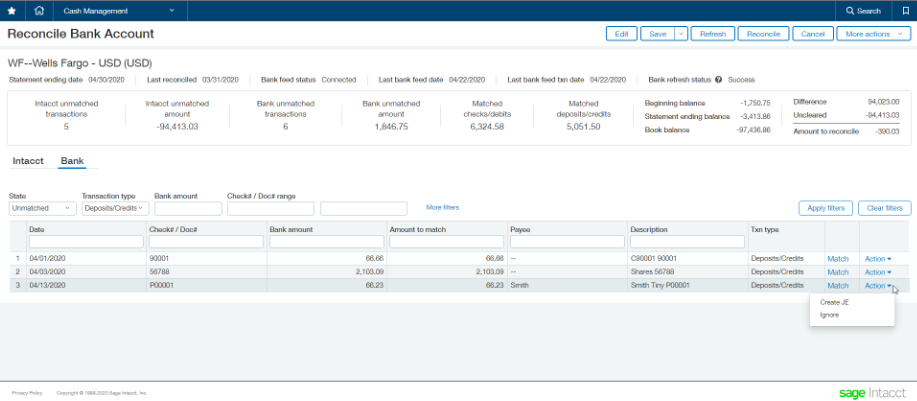 a brilliant guide on knowing the disposition of your cash position with sage intacct bank feeds